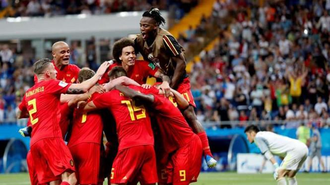 Belgia Tak Takut Melawan Brasil