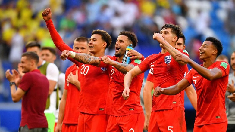 Inggris Bukan Lagi Bahan Tertawaan