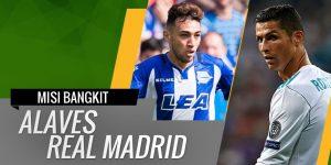 Prediksi Real Madrid vs Deportivo Alaves 24 Februari 2018