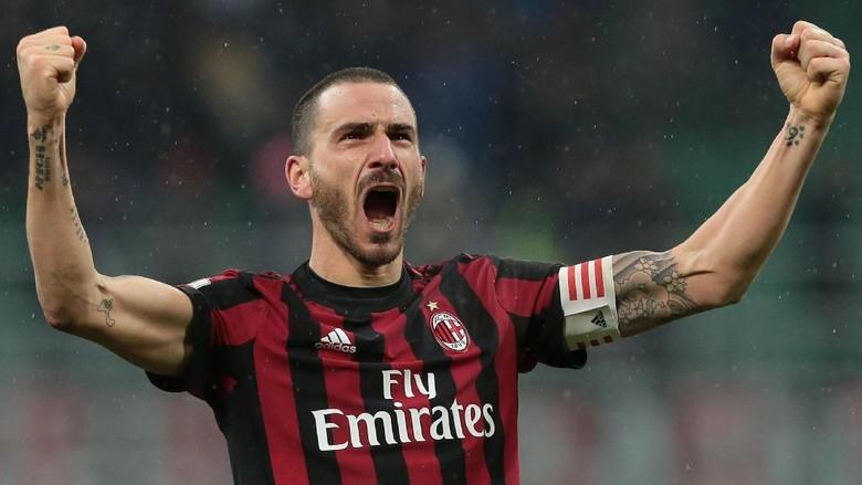 Leonardo Bonucci Resmi Kembali ke Juventus